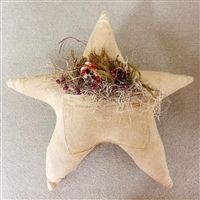 Star with Candy Cane and Berries $23.50