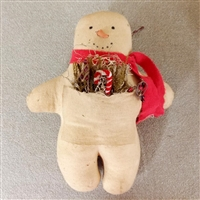 Snowman Ginger Boy $25