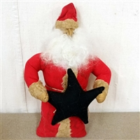 Santa with Black Star $47.50