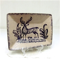 Redstoneware Stag Plate $135