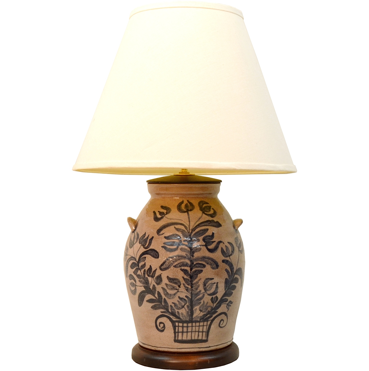 vintage tailored shade at lamps tole f furniture sale table lamp hand with floral for diane lighting id l