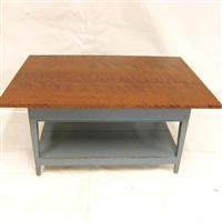 Coffee Table with Shelf $1070