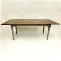 Tavern Table with Turned Legs $2275