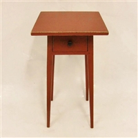 Splay Leg Table with Drawer $655