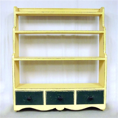 Hanging Shelf with 3 Drawers $965