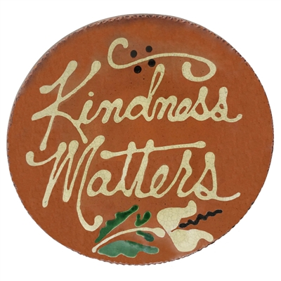 Quilled Kindness Matters Plate (MTO) $95