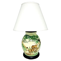 Peaceable Kingdom Lamp (MTO) $555