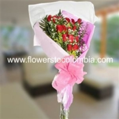 FASCINATING BOUQUET / 12 ROSES