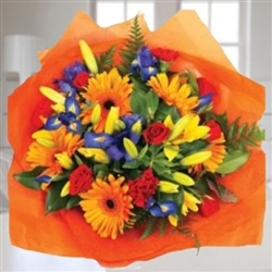RAINBOW BOUQUET, ARREGLOS DE COLORES