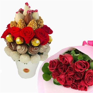 DOLCE AMORE MIO WITH BOUQUET