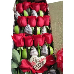 SPECIAL BOX X 12 ROSES