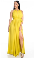 Caribbean Queen Maxi Dress