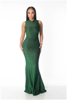 Emerald Mermaid Dress