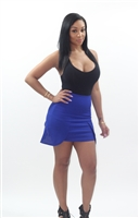Ladies Knit Peplum Skirt