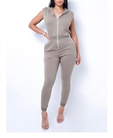 Zipper Jumpsuits