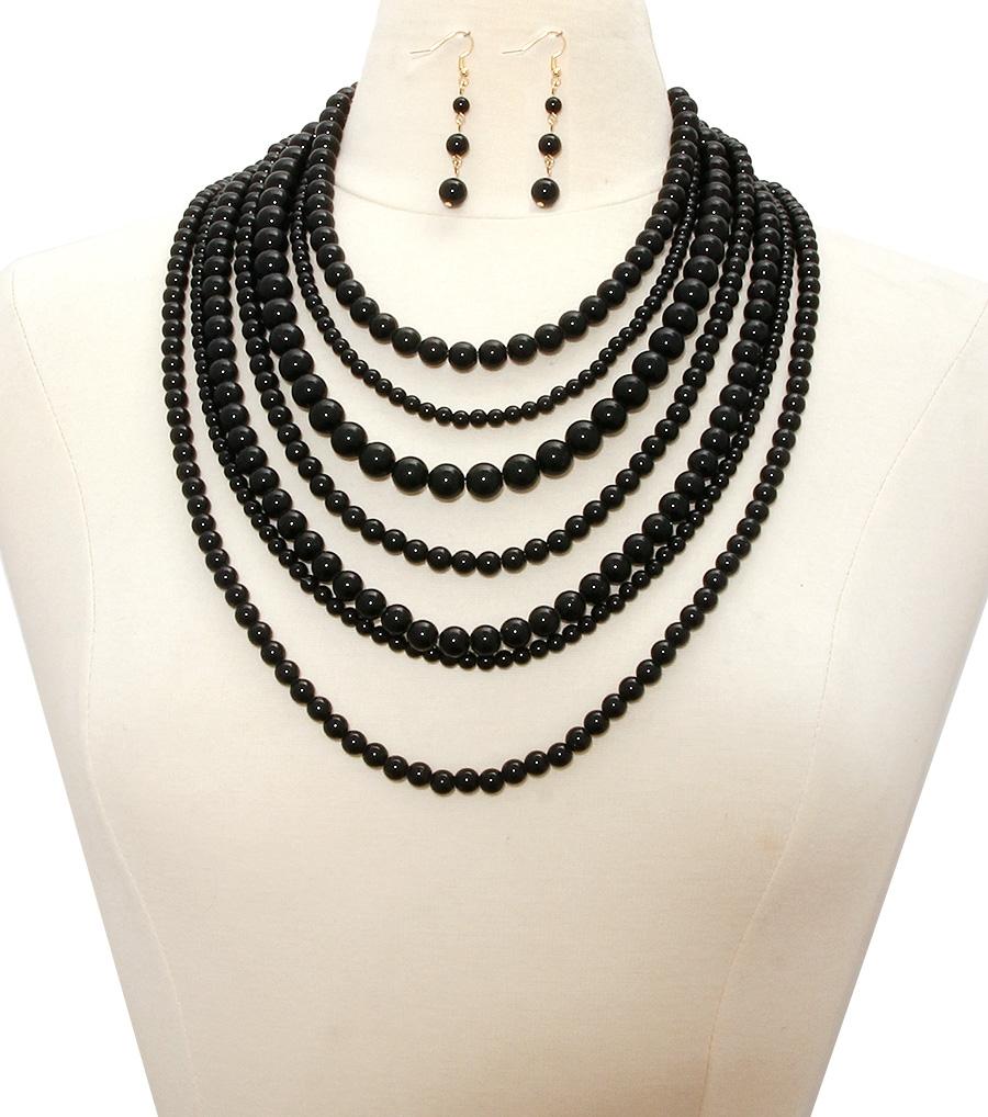 Black Pearl Costume Jewelry 16