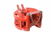 60-Ton Tubing Spider Bowl with Bushings, Plain Gate & Hinge Pins w/Chain