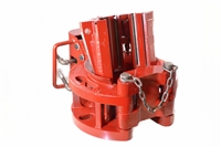 "Guiberson® Style T-60 Tubing Spider, w/Plain Gate, Foot Valve Assembly & 3-1/2"" Slip Body (Less Inserts)"