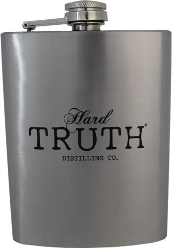8 oz Stainless Hard Truth Flask