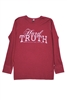 Hard Truth Maroon Thermal