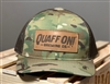 Quaff ON! camo hat