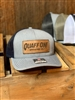 Heather grey Quaff ON! leather patch hat