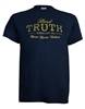 Hard Truth Gold Print Unisex Tee