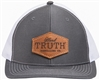 Hard Truth Leather Patch Hat