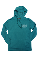 Hard Truth Distilling Co. Teal Hoodie
