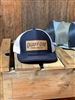 Navy Quaff ON! leather patch hat