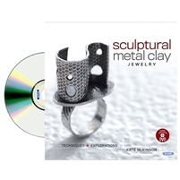 Sculptural Metal Clay Jewelry :Techniques and Explorations BOOK  by Kate McKinnon Book