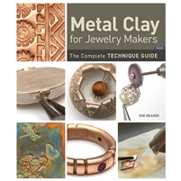 Metal Clay for Jewelry Makers BOOK  by Sue Heaser
