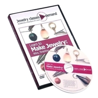 LEARN TO MAKE JEWELRY WIRE, FINISHING & DESIGN BASICS  DVD   By Linda Augsburg