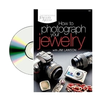 How to Photograph your Jewelry  DVD   by Jim Lawson
