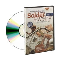 Metalsmith Essentials:How to Solder Jewelry DVD VOL 2 by Lexi Erickson