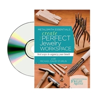 Metalsmith Essentials: Creat the Perfect Workspace DVD  by Michael D. Sturlin