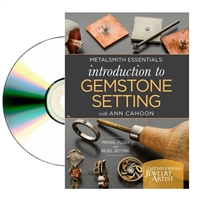 Introduction To Gemstone Setting  DVD by Ann Cahoon