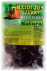 Natural Beef Jerky 1.6 ounce