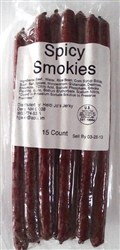 SPICY Beef Sticks Pound