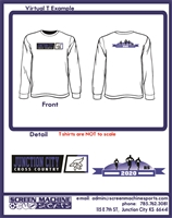 JCHS Cross Country -  Long Sleeve 100% cotton T