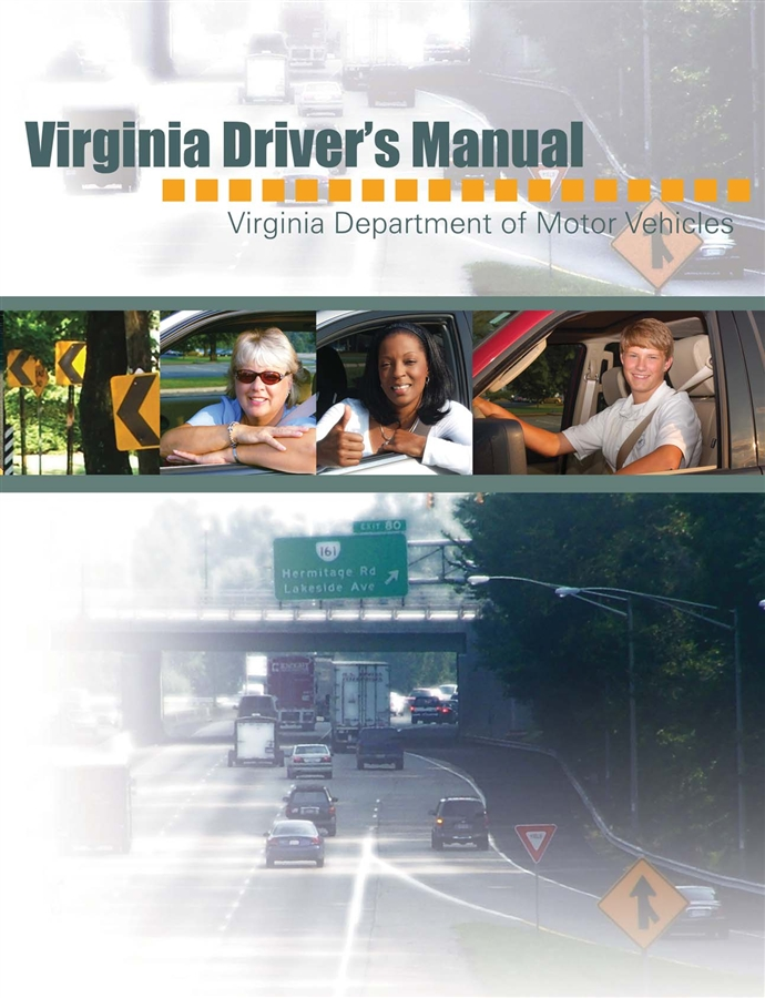 Virginia dmv approved driver 39 s manual course leesburg for Virginia motor vehicle department