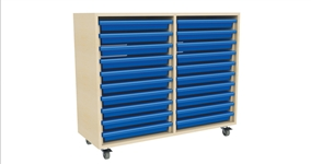 Double Column A3 Art 20 Tray Unit
