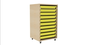 Single Column A3 Art 10 Tray Unit
