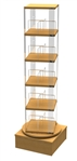 Childrens Book Spinner Beech/Oak