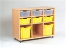 Yorkshire Tray Storage 3 x 3 Bay