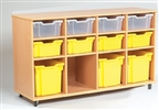 Yorkshire Tray Storage 4 x 3 Bay