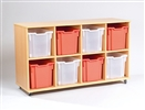 Yorkshire Tray Storage 4 x 2 Bay