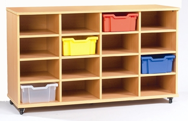 Yorkshire Tray Storage 4 x 4 Bay