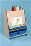 Mobile Paint Easel unit