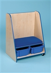 Mobile Seat Storage Unit